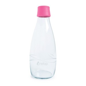 Retap Borosilicate Glass Water Bottle, 27-Ounce 水筒 750ml マゼンタ