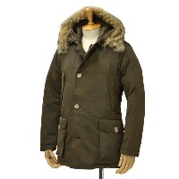 WOOLRICH【ウールリッチ】ダウンジャケット CAMOU ARCTIC PARKA ML WOCPS2270 cotton polyester CAMOUFLAGE(カモフラージュ)