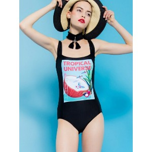 "【SALE/10%OFF】PAMEO POSE ""ANDROID GIRL"" ONE-PIECE SWIMSUIT パメオポーズ スポーツ/水着【RBA_S】【RBA_E】【送料無料】"