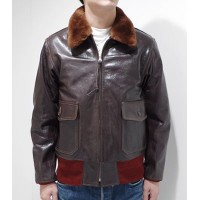 BUZZ RICKSON'S バズリクソンズ JACKET,FLYING,INTERMEDIATE|ARMY/NAVY『Type AN6552』【ミリタリー・フライト】BR80445(Flight...