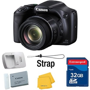 Canon Powershot SX530 HS 16.0 MP デジタル Camera with 50x Optical Zoom and 1080p Full HD ビデオ -...