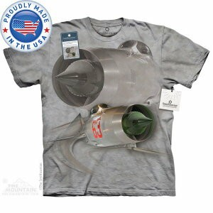 The Mountain Tシャツ The Smithsonian MIG-21F-13 Fishbed C (The Smithsonian 軍隊 メンズ 男性用 男女兼用 ) XL-4L ...