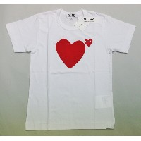 COMME des GARCONSコムデギャルソン 2016年新作PLAYロゴ 赤ハートT