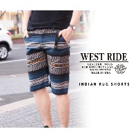 【WESTRIDE ウエストライド】ショーツ/ INDIAN RUG SHORTS★送料・代引き手数料無料!REAL DEAL