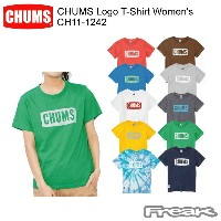 CHUMS チャムス CH11-1242 CHUMS Logo T-Shirt Women's チャムスロゴTシャツ  ※取り寄せ品