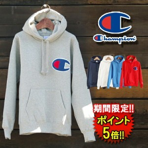 【Champion】 CHAMPION BIG LOGO HOOD (c3e127) Men's 3color □ 05P03Dec16