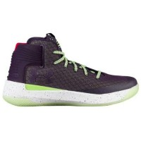 Under Armour Curry 3Zer0メンズ Imperial Purple/Lime Fizz/White アンダーアーマー バッシュ カリー3 zero ゼロ Stephen...