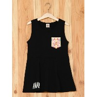 【SALE/10%OFF】ANAP KIDS/ANAP GIRL/ANAP ANAPKIDSPOCKETオルテガOP アナップ ワンピース【RBA_S】【RBA_E】【送料無料】