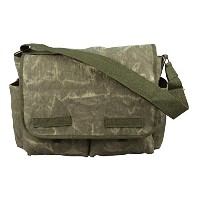 STONE WASHED CANVAS CLASSIC MESSENGER BAG(ストーンウォッシュキャンバスクラッシックメッセンジャーバッグ)