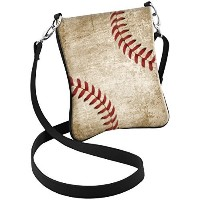 (Snaptotes) Snaptotes Baseball Stitch Design Hipster Crossbody Bag