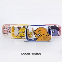 【Kakao friends】カカオフレンズ透明ポーチ (M)/Transparent pouch (M)/エナメル素材・高い活用度・余裕のあるサイズ・韓国KAKAO FRIENDS正品