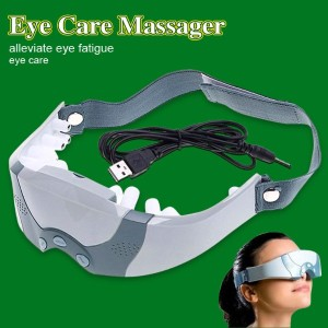 Christmas Gift Mask Migraine DC Electric Alleviate Fatigue health Care Forehead Eye Care Massager