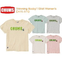 CHUMS チャムス CH11-1110 Trimming BoobyT-Shirt Women's トリミングブービーTシャツ ※取り寄せ品