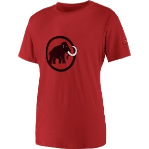 (取寄)マムート メンズ ロゴ Tシャツ Mammut Men's Logo Short-Sleeve T-Shirt Lava