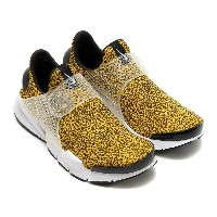 NIKE SOCK DART QS(ナイキ ソック ダート QS)(UNIVERSITY GOLD/BLACK-WHITE)17SU-S