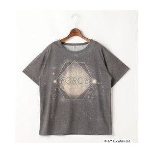 BIG-TEE(MAY THE FORCE BE WITH YOU)【ダブルネーム/DOUBLE NAME Tシャツ・カットソー】
