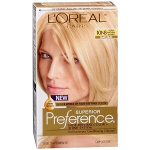 L`Oreal Superior Preference - 10NB Ultra Natural Blonde (Natural) 1 Each
