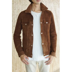 DELAY by Win&Sons ディレイバイ ウィンアンドサンズ/JACKET/ジャケット ジャケット DEERSKIN 3rd JK ディアスキン 【中古】【DELAY by Win&Sons】