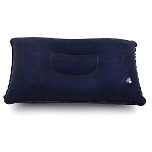 New Blue Travel Inflatable Soft Pillow Cushion Protect Neck (Usa)