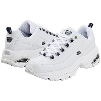 (スケッチャーズ) SKECHERS 靴・シューズ レディーススニーカー SKECHERS Premiums White Smooth Leather/Navy Trim US 7 (24cm) B