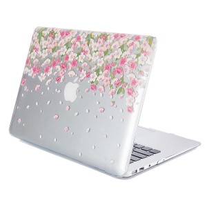 GMYLE Hard Case Print Glossy MacBook Air 13 inch 專用 - Floral Pattern ハードケースカバー