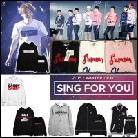 EXO SING FOR YOU !【佐川急便 無料配送】 EXO PLANET#2 The EXO・luxionコンサート同型 Tシャツ 半袖 パーカー 長袖 トレーナー スウェット...