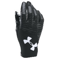 アンダーアーマー メンズ アメフト グローブ【Under Armour Highlight Football Gloves】Black/Black/White