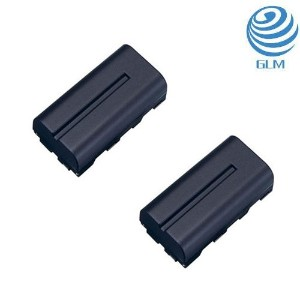 【GLM】2個セット SONY ソニー対応 CCD-SC5 CCD-TR1 DCR-TR7 互換バッテリー NP-F330 NP-F530 NP-F550 NP-F570 【6ヶ月保証】