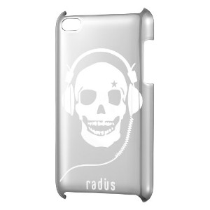radius Chrome Jacket for iPod touch 4th generation シルバー RA-PU441S