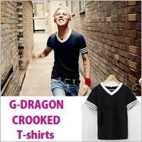 G-DRAGON CROOKED MV 着用 T-shirts/Tシャツ/COUP D`ETAT /BigBang / ビッグバン / GD / ONE OF A KIND/GIYONGCHY...