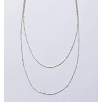 <monkey time> CHAINNECK LACE s/fine/ネックレス【ビューティアンドユース ユナイテッドアローズ/BEAUTY&YOUTH UNITED ARROWS ネックレス】
