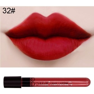 Waterproof lip gloss lipstick 32#