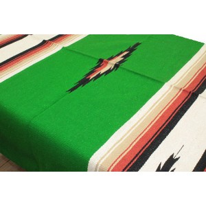 "エルパソ サドルブランケット EL PASO SADDLE BLANKET""NEW WEST"" DIAMOND CENTER BLANKETS (KELLY GREEN)"