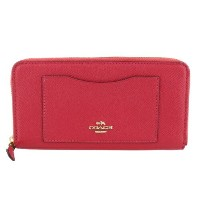 COACH OUTLET コーチ アウトレット 長財布 F54007 IMBPK クロスグレーン レザー coo5