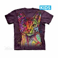 The Mountain Tシャツ Abyssinian (ネコ アビシニアン キッズ 子供用)【輸入品】半袖
