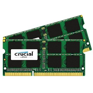 CT2K8G3S186DM [16GB kit (8GBx2) DDR3L-1866 (PC3-14900) CL13 SODIMM 204pin 1.35V for Mac]