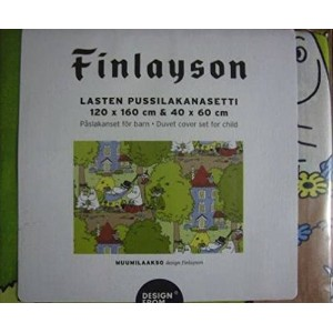 Finlayson フィンレイソン 布団カバーセットfor child ムーミン谷