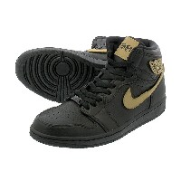 NIKE AIR JORDAN 1 RETRO HIGH BHM ナイキ エア ジョーダン 1 レトロ ハイ BHM BLACK/METALLIC GOLD