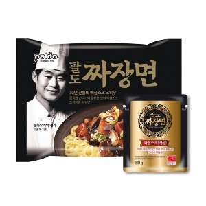 [Korean Noodle] Paldo Jjajangmyeon Ramen 4pack