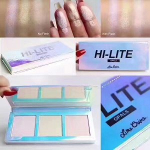 Hi-Lite Opals Highlighters Opale Palette Makeup High Quality Powders Cosmetics Waterproof 3 Colors