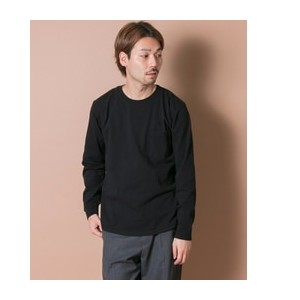 UR Goodwear×UR CREWNECK POCKET LONG-SLEEVE T-SHIRTS【アーバンリサーチ/URBAN RESEARCH Tシャツ・カットソー】