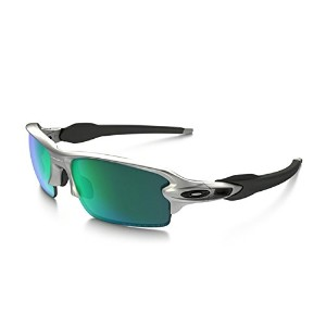 (オークリー)OAKLEY サングラス Flak 2.0 jade iridium polarized (Asia Fit) silver /jade iridium polarized...