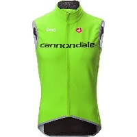 カステリ メンズ サイクリング スポーツ Castelli Cannondale Perfetto Vest - Men's Sprint Green