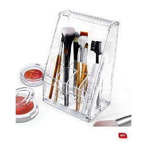 Acrylicアクリル DIY Cosmetic コスメケース Organizer storage For Eyebrow Pencil & Brush Make-up [並行輸入品]