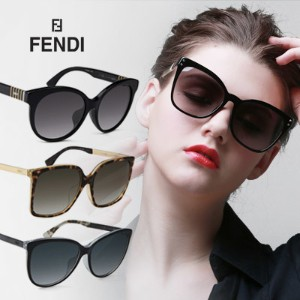 【NEW STOCK】 【FENDI】 Sunglasses / Fendi / EYESYS / Fashion / Authentic / UV Protection