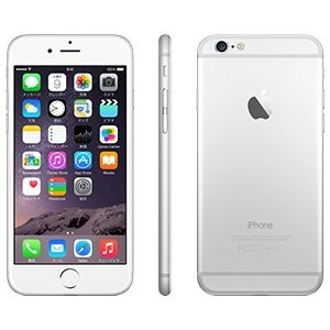 Apple iPhone 6 16GB シルバー 【docomo 白ロム】MG482J