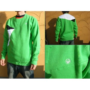 《1万円以上で送料無料》09DRAGON BLOCKHEAD GREEN CREW 【L】