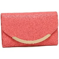 SEE BY CHLOE 財布 シーバイクロエ 9P7628 P279 568 LIZZIE SBC COMPACT WALLETS 二つ折り財布 WATER MELON