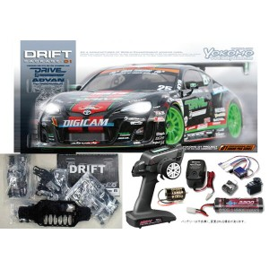ヨコモ ドリフトパッケージ DRIVE M7 ADVAN MAX ORIDO Racing 86キット+MX-V 2.4GHz BL-Sport EP START SET #DP-M786A-MX-V