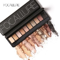 Focallure Ten Colors Eye Shadow Makeup Eyeshadow Palette Cosmetic Makeup Nude Eye Shadow